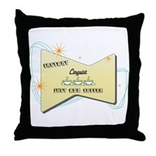 Instant Linguist Throw Pillow