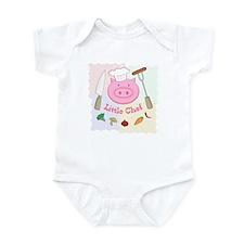 Little Pinky Chef Pig Infant Bodysuit