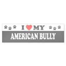 AMERICAN BULLY Bumper Bumper Sticker
