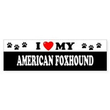 AMERICAN FOXHOUND Bumper Bumper Sticker