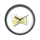 Instant Library Science Major Wall Clock