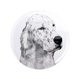 "English Setter Vintage 3.5"" Button (100 pack)"