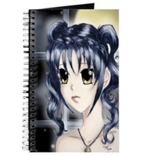 Girl on A Moonlit Night Journal