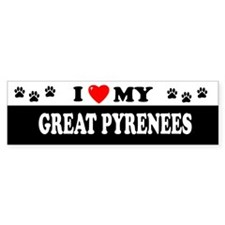 GREAT PYRENEES Bumper Bumper Sticker