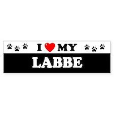 LABBE Bumper Bumper Sticker