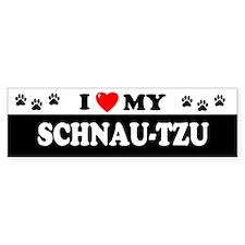 SCHNAU-TZU Bumper Car Sticker