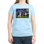 Starry / 4 Great Danes Women's Light T-Shirt
