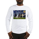 Starry / 4 Great Danes Long Sleeve T-Shirt