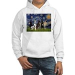 Starry / 4 Great Danes Hooded Sweatshirt
