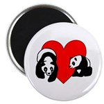 Panda Bear Love Magnet