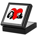 Panda Bear Love Keepsake Box