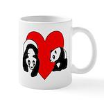 Panda Bear Love Mug