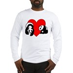Panda Bear Love Long Sleeve T-Shirt