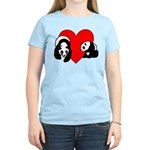Panda Bear Love Women's Light T-Shirt