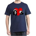 Panda Bear Love Dark T-Shirt