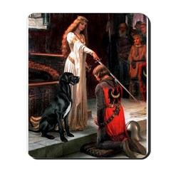 Accolade / Gr Dane (bl) Mousepad