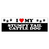 STUMPY TAIL CATTLE DOG Bumper Bumper Sticker