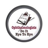 Ophthalmology Ophthalmologist Eye Doctor Wall Cloc