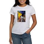 Cafe / Gr Dane (h) Women's T-Shirt