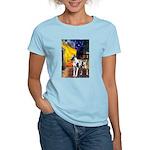 Cafe / Gr Dane (h) Women's Light T-Shirt