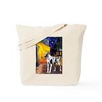 Cafe / Gr Dane (h) Tote Bag