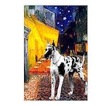 Cafe / Gr Dane (h) Postcards (Package of 8)