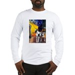 Cafe / Gr Dane (h) Long Sleeve T-Shirt