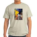 Cafe / Gr Dane (h) Light T-Shirt