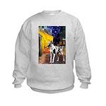 Cafe / Gr Dane (h) Kids Sweatshirt