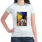Cafe / Gr Dane (h) Jr. Ringer T-Shirt