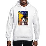 Cafe / Gr Dane (h) Hooded Sweatshirt