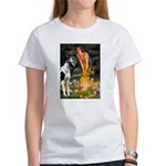 Fairies / Gr Dane (h) Women's T-Shirt