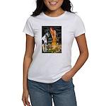 Fairies / Gr Dane (h) Women's T-Shirt