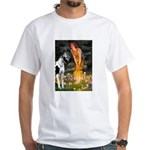 Fairies / Gr Dane (h) White T-Shirt