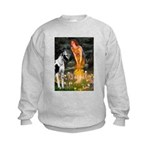Fairies / Gr Dane (h) Kids Sweatshirt