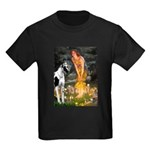 Fairies / Gr Dane (h) Kids Dark T-Shirt