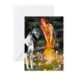 Fairies / Gr Dane (h) Greeting Cards (Pk of 10)