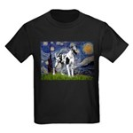 Starry / Gr Dane (h) Kids Dark T-Shirt