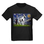 Starry / Gr Dane (h) Kids Dark T-Shirt