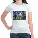 Starry / Gr Dane (h) Jr. Ringer T-Shirt