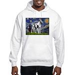 Starry / Gr Dane (h) Hooded Sweatshirt