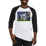 Starry / Gr Dane (h) Baseball Jersey