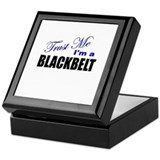 Trust Me I'm a Blackbelt Keepsake Box