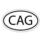 CAG Oval Decal