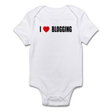 I Love Blogging Infant Bodysuit