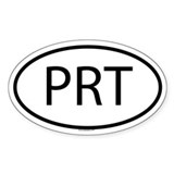 PRT Oval Decal
