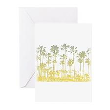palm tree Greeting Cards (Pk of 10)