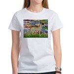 Lilies / Gr Dane (f) Women's T-Shirt