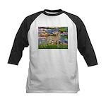 Lilies / Gr Dane (f) Kids Baseball Jersey
