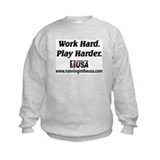 RUSA - Work Hard. Play Harder Sweatshirt